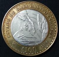 MEXICO 2006 $100 SOUTH BAJA CALIFORNIA BIMETALLIC Silver Core Original Shine See Image, Bargain Priced - Mexico