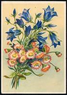 8975 - Glückwunschkarte - Blumen - Künstlerkarte - Erhard Bunkowsky Dresden - Blumen