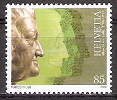 Schweiz Mi.Nr. 2055 ** Albrecht Von Haller 2008 (2017274) - Schweiz