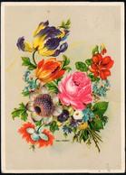 A7330 - Paul Kober Glückwunschkarte - Blumen - Künstlerkarte DDR - Verlag Werner Thiele - Blumen