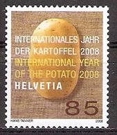 Schweiz Mi.Nr. 2043 ** Internationales Jahr Der Kartoffel 2008 (2017263) - Schweiz