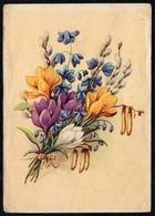 A8657 - Glückwunschkarte Geburtstag - Blumen - Künstlerkarte - Verlag  K&M - Gel Oelsnitz - Blumen