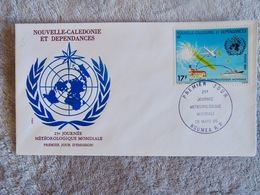 First Day Cover 25eme Journee Météorologique Mondiale - Briefe U. Dokumente