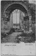 ABBAYE D'AULNE : Porte Romane - 1904 - Thuin