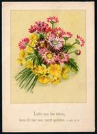 A7013 - Glückwunschkarte  - Blumen - Künstlerkarte DDR - Blumen