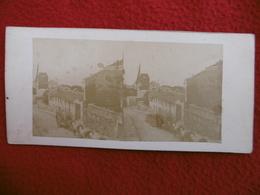 PARIS MONTMARTRE ATTELAGE LIVRAISON EAU MOULIN PHOTO STEREO CIRCA 1860 - Lieux