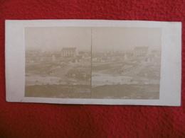 PARIS MONTMARTRE PHOTO STEREO CIRCA 1860 - Lieux