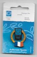 Pin's  Neuf  Sport  J.O  ATHÈNES  2004 - Jeux Olympiques