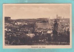 Small Map Postcard Of Mechernich Von Suden,North Rhine-Westphalia, Germany,V110. - Germany