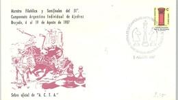 POSTMARKET ARGENTINA  1987 - Ajedrez