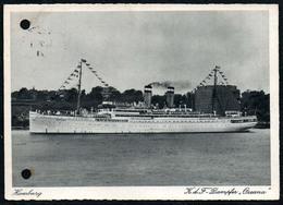 B2976 - KDF K.d.F. Dampfer Ozeana - Hamburg - Propaganda - Dampfer