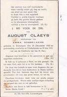 Zomergem, Vinderhoute, 1951, August Claeys, Dobbelaere - Images Religieuses