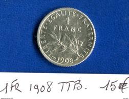 1 Fr  1908 - Francia