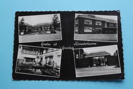 Groeten Uit ALEXANDER Kazerne 's Gravenhage ( Emdeeha ) Anno Stamp 19?? ( Zie/voir Foto Voor Details ) ! - Caserme
