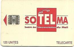 @+ Mali - SOTELMA Logo Rouge - 120U - C53149206 - Ref : MAL-O-16b - Mali
