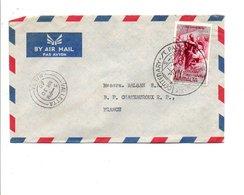 GB MALTE LETTRE AVION POUR LA FRANCE 1960 - Malta (...-1964)