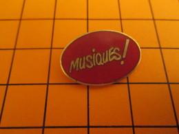 1117 PIN'S PINS / Rare Et De Belle Qualité ! / Thème : MUSIQUE / MUSIQUES ! - Musique