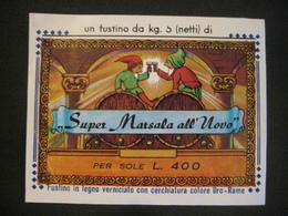 SUPER MARSALA ALL'UOVO NANETTI FOLLETTI étiquette Etichetta - Labels