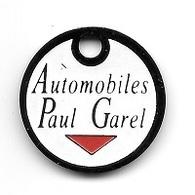 Jeton De Caddie  Ville, Automobiles  Paul  Garel  à  TARARE  ( 69 ) - Jetons De Caddies