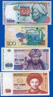 Kazakhstan  4  Billets - Kazakhstan