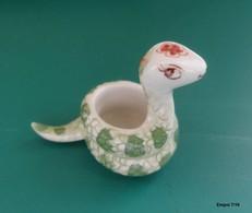 SERPENT Miniature En Porcelaine - Animaux