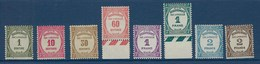 "FR Taxe YT 55 à 62  "" Typographie "" 1927-31 Neuf**/* - 1859-1955 Nuovi"