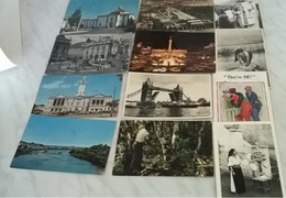 12 CART.  SOGGETTI VARI     (472) - Cartoline