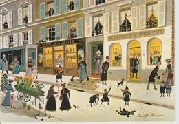 19 / 7 / 213. -  GALERIE NAIFS  ET. PRIMITIFD  ( Signé  Rodolohe  Rousseau ). C P M  Dos  -  Divisé. Simple     Circulé - Autres Illustrateurs