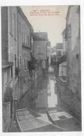 (RECTO / VERSO) AMIENS - N° 199 - CANAL DE LA RUE DES COCHES PRIS DU PONT DIT HENRI IV - CPA NON VOYAGEE - Amiens