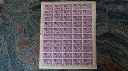 Andorra Española 1932 Correo Aereo Hojita De 0,50(x 50)  Ed. NE 14**(MNH)-17,50 EUR - Briefmarken