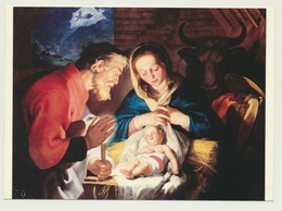 AK  Bloemaert Krippe Geburt Christi - Illustratori & Fotografie