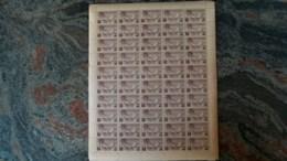 Andorra Española 1932 Correo Aereo Hojita De 1Pts.(x 50)  Ed. NE 16**(MNH)-22,50 EUR - Collections (sans Albums)