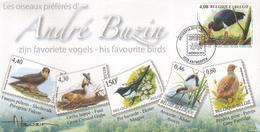 BUZIN / SOUVENIR EDITE PAR BPOST EN 2010 / LES OISEAUX PREFERES D'ANDRE BUZIN / ETAT IMPECCABLE - 1985-.. Oiseaux (Buzin)