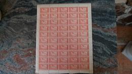 Andorra Española 1932 Correo Aereo Hojita De 1,25Pts.(x 50)  Ed. NE 17**(MNH)-22.50 EUR - Briefmarken