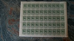 Andorra Española 1932 Correo Aereo Hojita De 2,50Pts.(x 50)  Ed. NE 33**(MNH)-175,00 EUR - Collezioni (senza Album)