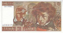 Billet 10 F Berlioz Du 6-7-1978 FAY 63.25 Alph. O.306 P/SPL Sans épinglage - 10 F 1972-1978 ''Berlioz''