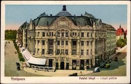 Timisoara - Palatul Lioyd - Lloyd Palota. 1930. - Romania