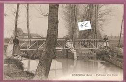 Cpa Chaource L'Armance Et La Vanne - - éditeur Miot Cachet - Chaource