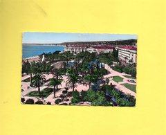 CP606 UNE CARTE POSTALE NICE JARDIN ALBERT I ALPES MARITIMES AVEC TIMBRE N°1083 - Parcs Et Jardins