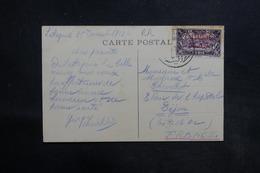 LATTAQUIE - Affranchissement De Lattaquié Sur Carte Postale En 1933 Pour La France - L 36602 - Lettres & Documents