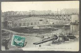 CPA 29 BREST - Le Grand Pont - Le Tonnerre - GB 26 - Réf. Y 118 - Brest