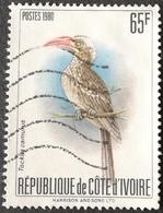 Ivory Coast  1980 Birds USED  (Scott $60.00) - Ivory Coast (1960-...)