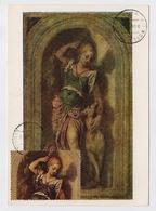 CARTE MAXIMUM CM Card USSR RUSSIA Art Painting Block BF Italy Veroneze Diana Dog - 1923-1991 URSS