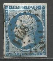 FRANCE - Oblitération Petits Chiffres LP 1148 DUN-LE-PALLETEAU (Creuse) - 1849-1876: Période Classique