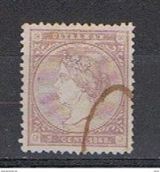 ANTILLE  SPAGNOLE:  1868  ISABELLA  II°  -  5 C. LILLA  US. -  YV/TELL. 26 - Antille