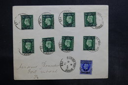 MAROC - Enveloppe De Fez Pour Fez En 1938, Affranchissement Plaisant - L 36608 - Oficinas En  Marruecos / Tanger : (...-1958