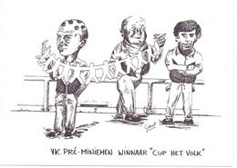 PK - Winnaar Cup Het Volk Pre Miniemen 1993 - Knesselare - Uitgave Geert De Groote - Cartes Postales