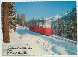 AK  Seefeld Standseilbahn Rosshütte - Seefeld