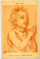 Musee Du Louvre - Andrea Del Sarto - Buste D'enfant - Formato Piccolo Non Viaggiata – E 13 - Musei