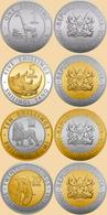 Kenya 4 Coins Set 2018 - Kenya